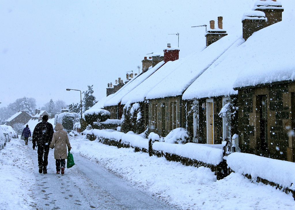 What's the legal situation when snow keeps people at home?