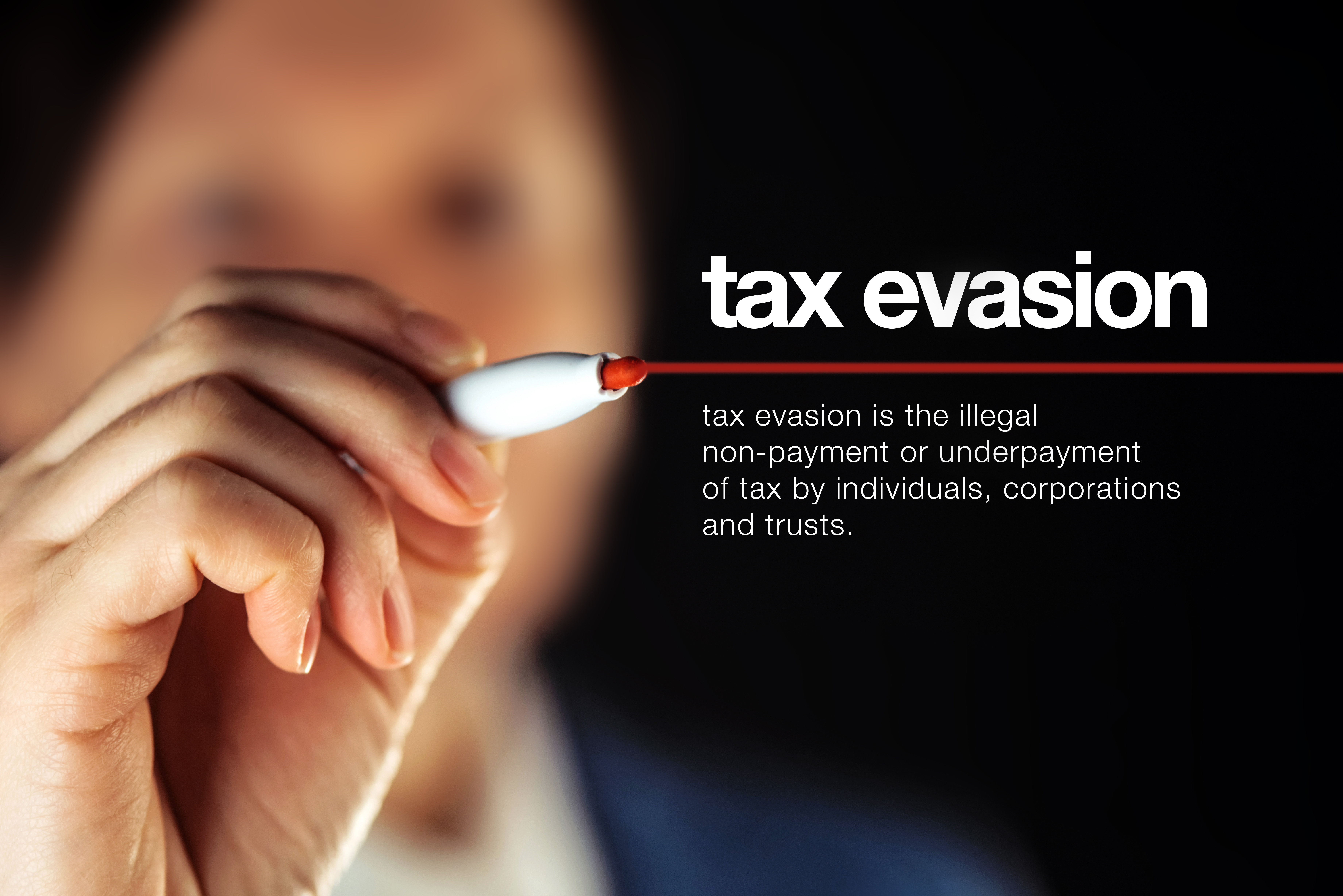 a taxing problem for business - tax evasion
